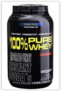 [SubMarino] 100% Pure Whey Protein 900G - Probiótica  por R$ 57