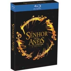 [Extra] Blu-Ray - Box O Senhor Dos Anéis: Trilogia - 3 Discos - R$81