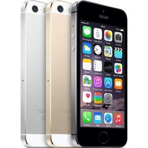 [Sou Barato] iPhone 5S 16GB Prata/Dourado Desbloqueado IOS 8 4G por R$ 1619