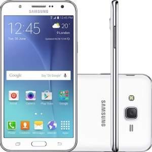 [Sou Barato] Smartphone Samsung Galaxy J7 Duos Dual Chip Desbloqueado Oi -Branco por R$ 899
