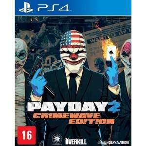 [Submarino] Payday 2: Crimewave Edition - Ps4 por R$ 60