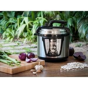 [SHOPTIME] Panela de Pressão Elétrica 4L Inox Fun Kitchen com 2 anos de Garantia - R$ 154,00