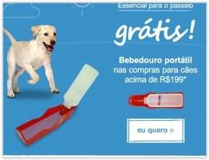 [Pet Love] Ganhe um Bebedouro portátil nas compras acima de R$ 199
