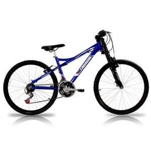 [SOU BARATO] Bicicleta Aro 26 TK FREE 6.0 B Alumínio Susp 21V Azul - Track Bikes  - R$ 499,00