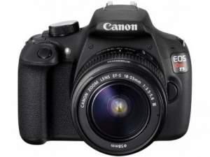 "[Magazine Luiza] Câmera SemiProfissional Canon EOS Rebel T5, 18-55 III 18MP LCD 3"" Zoom Óptico 3x Filma Full HD - R$1400"