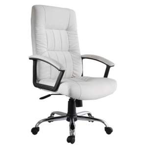 [Casas Bahia] Cadeira Office Finlandek Presidente Plus em Couro Sintético R$220