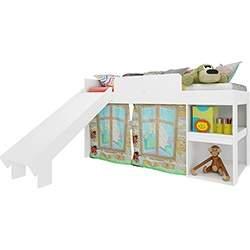[SUBMARINO] Cama Infantil Playground Meu Fofinho Branco - Art in Móveis  - R$ 342,00