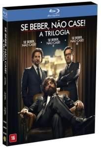 [Saraiva] Blu-ray Se beber, não case: A Trilogia - 3 discos - R$50