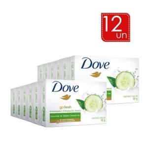 [Lojas Rede] Sabonete Dove Go Fresh LEVE 12 PAGUE 8 por 18