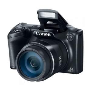 """[Casas Bahia] Câmera Digital Canon Powershot SX400IS Preta – 16.0MP, LCD 3.0"""" Lente 24mm e Vídeo HD + Cartão de 8GB - R$584"""