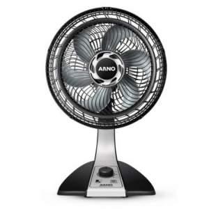 [CLUBE DO RICARDO] Ventilador de Mesa Silence Force com 60W de Potência, 30cm, 6 Pás e 3 Velocidades VF30 Preto - Arno - R$100