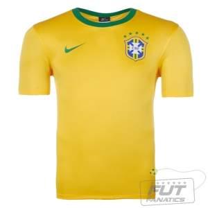[Futfanatics] Camisa Nike Brasil Home 2014 seguidor por R$ 40