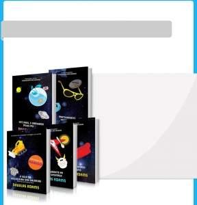 [Submarino] Kit Livros - Coleção O Guia do Mochileiro das Galáxias - Edição Econômica (5 Volumes) por R$ 20