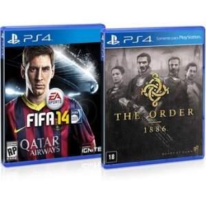[Walmart] Jogos para PS4 The Order 1886 + Fifa 14 - R$82