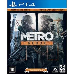 [Extra] Jogo Metro Redux - PS4 por R$105