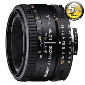 [Ponto Frio] Lente Nikon AF Nikkor 50mm f/1.8D - Preta por R$ 479,00