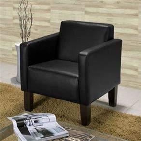 [CASAS BAHIA] Poltrona American Comfort Cintia em Korino AC 3600 - R$269
