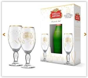 [Voltou- Empório da Cerveja] Gift para Presente Stella Artois por R$ 30