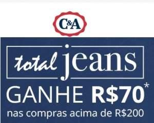 [C&A] Jeans - Grátis