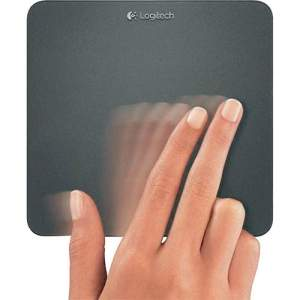 [SOU BARATO] Wireless Rechargeable Touchpad T650 Logitech Preto - R$99