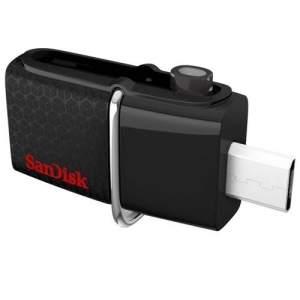 [Ponto Frio] Pendrive para Smartphone e Tablet 64GB SanDisk Ultra Dual Drive USB 3.0 64 GB por R$ 129,95