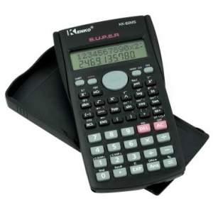 [Ricardo Eletro] Calculadora Científica Kenko com 2 linhas no Display KK-82MS por R$ 9