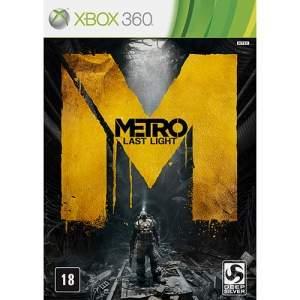 [Shoptime] Metro: Last Light Limited - XBOX 360 - R$60
