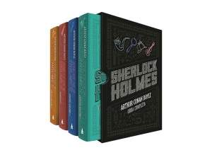 [Ponto Frio] Box Sherlock Holmes: Obra Completa (4 volumes) - R$65