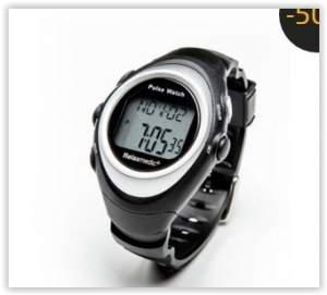 [Ponto Frio]  Relógio Monitor Cardíaco de Pulso Touch Trainer RM-RE201 - RelaxMedic por R$ 50
