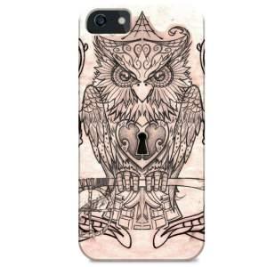 [Walmart]Capa Coruja N°6 iPhone 4/4S por R$ 30