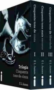 [Amazon]Box da Trilogia Cinquenta Tons de Cinza por R$ 45