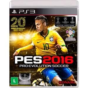 [MAGAZINE LUIZA] PES 2016 - PS3 por R$129
