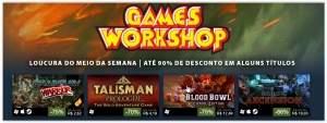 [Steam] Games Workshop - Loucura do meio da semana - 10% a 90% de desconto