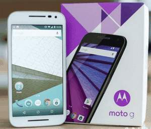 [FNAC] - Smartphone Motorola Moto G 3ª Geração XT1543 8GB Preto - R$ 858