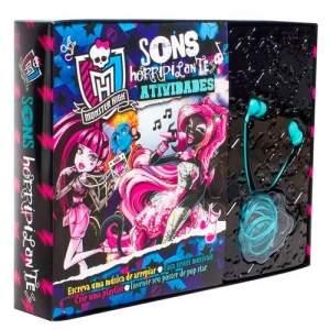 [Ponto Frio] Livro - Monster High - Sons Horripilantes - Atividades por R$ 8