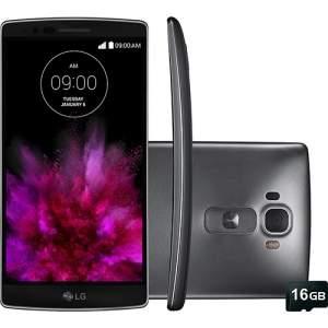 """[Americanas] Smartphone LG G Flex2 Desbloqueado Android 5.0 Tela 5.5"""" 16GB 4G Câmera 13MP e Processador Octa Core - Titânio R$ 1.799,00"""