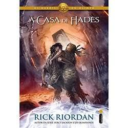 [submarino] Livro - A Casa de Hades: Coleção Os Heróis do Olimpo - Volume 4  R$ 12,00