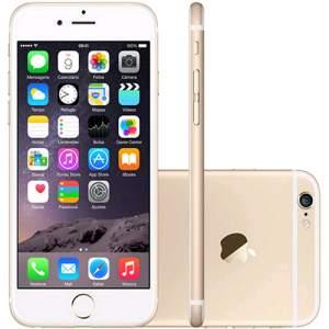 [Submarino] iPhone 6 128GB Dourado iOS 8 4G Wi-Fi Câmera 8MP - Apple por R$ 3224