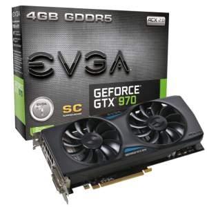 [Pichau Informática] Placa de Vídeo EVGA Geforce GTX 970 SC ACX 2.0 4GB GDDR5 256Bit, 04G-P4-2974-KR - R$1.699