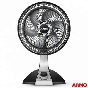 [FastShop] Ventilador de Mesa Silence Force VF30 com 03 Velocidades Preto e Prata - Arno de R$159,00 por R$95,56