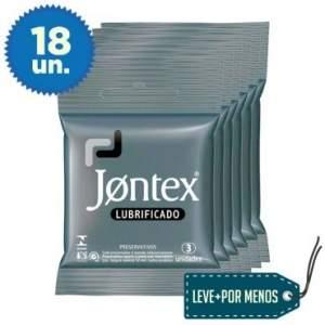 [Ricardo Eletro] Leve Mais Pague Menos: 6 Preservativos Lubrificados Jontex com 3 unidades Por R$ 15