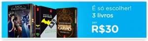 [Submarino] Escolha 3 Livros da Página e Pague R$ 30