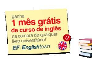 [Americanas] 1 mês de curso de inglês English Town comprando 1 livro universitário
