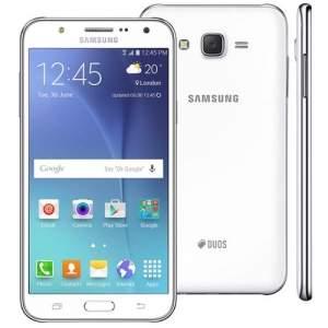 """[Extra] Smartphone Samsung Galaxy J7 Duos Branco com Dual chip, Tela 5.5"""", 4G, Câmera 13MP, Android 5.1 e Processador Octa Core de 1.5 Ghz por R$ 1138"""