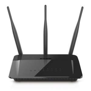 [Casas Bahia] Roteador D-Link DIR-809 AC Dualband Repetidor com 3 Antenas Externas 5dBi 750Mbps - Roteadores R$143,10 á vista