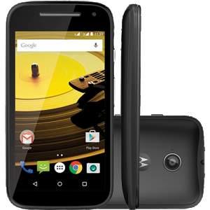 """[Americanas] Smartphone Motorola Moto E 2ª Geração 8GB Dual Chip Desbloqueado Android Lollipop 5.0 Tela 4.5"""" 3G Wi-Fi Câmera de 5MP - Preto R$460,89"""