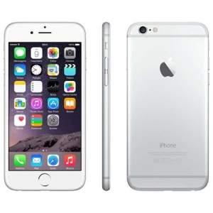 "[extra] iPhone 6 Apple com Tela 4,7"", iOS 8, Touch ID, Câmera iSight 8MP, Wi-Fi, 3G/4G, GPS, MP3, Bluetooth e NFC - Prateado R$2559,20"