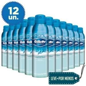[Ricardo Eletro] Leve Mais Pague Menos: 12 Desodorantes Aerosol Gillette Jato Seco Artic Ice 150ml por R$ 72