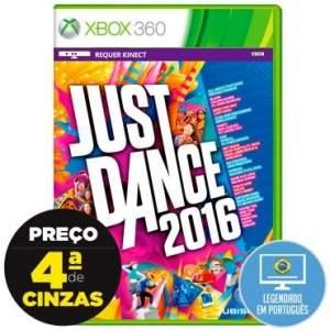 [Ricardo Eletro] Jogo Just Dance 2016 - Xbox 360 - R$100