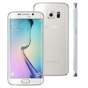 """[extra] Smartphone Desbloqueado Samsung Galaxy S6 Edge SM-G925I Branco com Tela de 5.1"""", Android 5.0, 4G, Câmera 16 MP e Processador Octa Core R$2.295,20"""